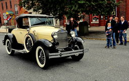Manheim, PA: Vinatage Roadster Car Royalty Free Stock Photo