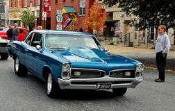 Manheim, PA: Vintage GTO Coupe Stock Photography