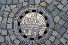 manhole стоковая фотография rf