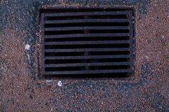 Manhole Royalty Free Stock Photography