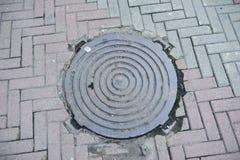 manhole Foto de Stock