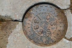 Manhole Zdjęcie Royalty Free