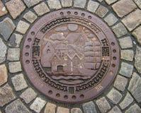 manhole photo stock