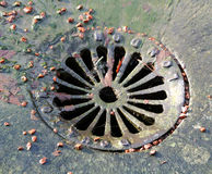 manhole image libre de droits