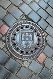 Prague City Sewer royalty free stock image