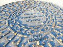Manhole Chang zawody międzynarodowi obwód Zdjęcie Stock
