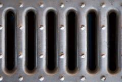 A manhole cover Stock Photo