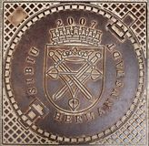 Manhole cover Stock Photos