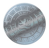 Manhole cover Royalty Free Stock Image