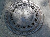 Manhole Cover Stock Photo