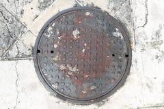 Manhole cover NOT  Stock Photos