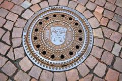Manhole cover from Pirna