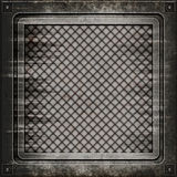 Manhole cover (Seamless texture) Stock Images