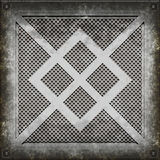 Manhole cover (Seamless texture) Royalty Free Stock Photos