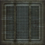 Manhole cover (Seamless texture) Stock Photo