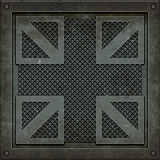 Manhole cover (Seamless texture) Stock Image