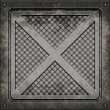 Manhole cover (Seamless texture) Royalty Free Stock Photography
