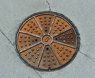 Manhole Covers  Sewer Cover royalty free stock image