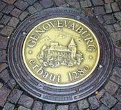 Manhole cower Stock Image