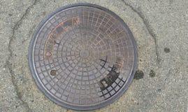 Manhole, Manhole Cover, Road Surface, Circle stock photo