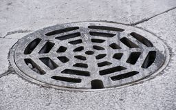 Manhole royalty free stock photo