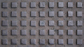 Manhole pattern Stock Photo