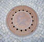 Manhole pokrywa obrazy royalty free
