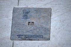 Manhole pokrywa Obraz Royalty Free