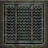 Manhole pokrywa (Bezszwowa tekstura) Zdjęcie Stock