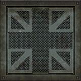 Manhole pokrywa (Bezszwowa tekstura) Obraz Stock