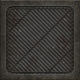 Manhole pokrywa (Bezszwowa tekstura) Fotografia Stock