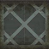 Manhole pokrywa (Bezszwowa tekstura) Obrazy Royalty Free
