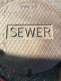 Manhole pokrywy zdjęcie royalty free