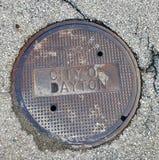 Manhole pokrywy zdjęcia royalty free