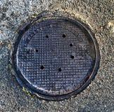 Manhole pokrywy Zdjęcia Stock