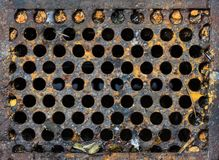 Manhole Sanitary Sewer Royalty Free Stock Photo