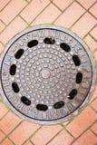 manhole stary Obraz Stock