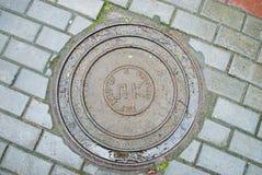 manhole stary Obrazy Stock