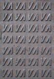 manholemodell royaltyfri bild