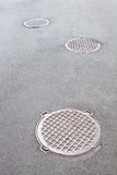 Manholes Royalty Free Stock Photos