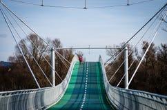 Manière au-dessus de pont photographie stock