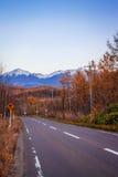 Manière d'aller biei Hokkaido Japon Photographie stock