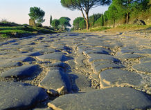 Manière d'Appian, Rome Image stock
