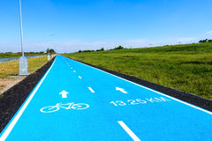 Manière de bicyclette Photographie stock