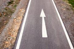 Manière de bicyclette Images libres de droits