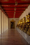 Manière de Bouddha léger Photos libres de droits
