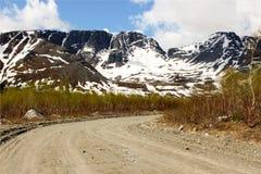 Manière de montagne Image libre de droits
