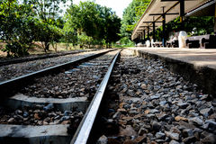 Manière de rail Photos libres de droits