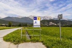 Manière de St James, Moetz, Autriche photographie stock libre de droits
