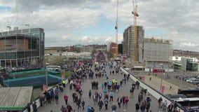 Manière de Wembley banque de vidéos